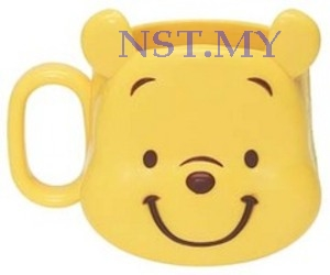 Japan Import Pooh Heat Resistant Hard to break Mug