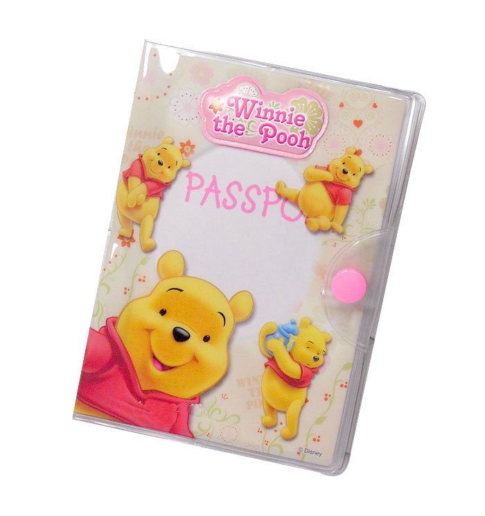 Winnie the Pooh Multi Layer Water Proof Passport Holder
