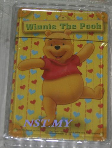 Winnie the Pooh Poker Card with case