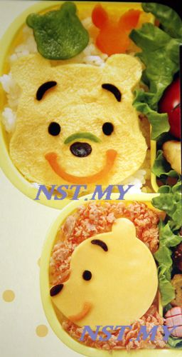Pooh Multipurpose vegetable/cheese/ham/cookies mould