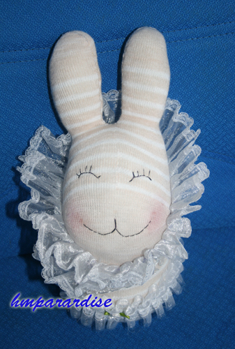 Rabbit in the Wonderland Handmade Sock Dolls - Click Image to Close