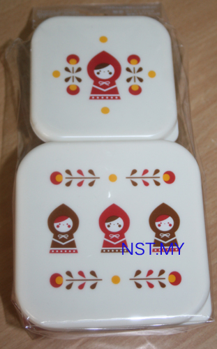 Red Riding Hood Lunch Box(2 in 1 Set)