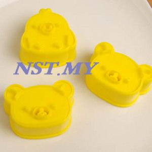 Japan Import Rilakkuma Cookies/Toast/Cheese/Ham Mould