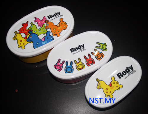 Japan Made Rody Bento 3 in 1 Set