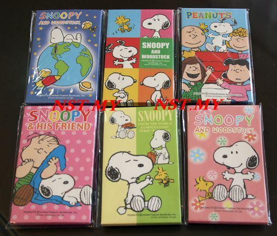 Japan Made Snoopy Ang Pau packet set (6 sets)