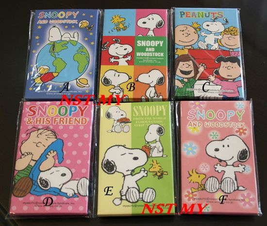 Japan Made Snoopy Ang Pau packet set (invidual set)