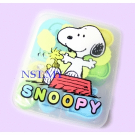Made in Japan Snoopy Rice Mould+Stencil+Sause case box