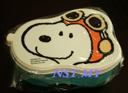 Japan Import Snoopy Pilot Microwavable bento/fruit box
