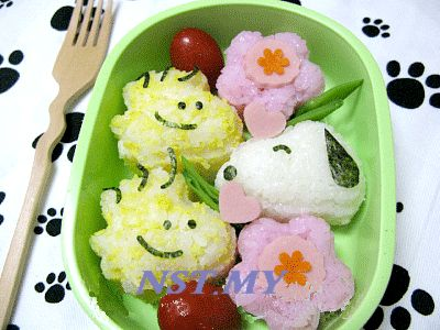 Japan Made Snoopy Rice/Sushi/Cookies Mould Set