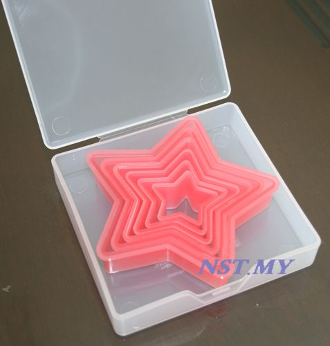 Japan Import Star Shaped Cookies Mould/Rice Mould with case