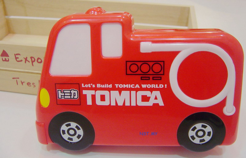 Tomica Car Fire Fighter Lunch Box