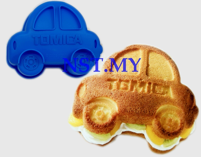 Tomica car Microwavable Cake/jelly/ice-cream Mould - Click Image to Close