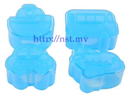 Japan Import Transport Pattern Toast/cookies/rice Mould