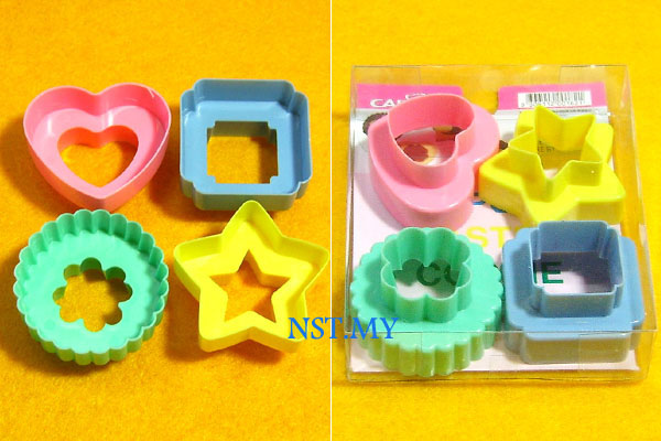 Colour Cookies Cutter Set
