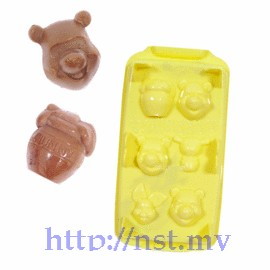 Winnie the pooh 3D Chocholate/Ice/Jelly Mould