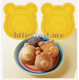 Japan Import Pooh Cake/Jelly/Pudding Mould(2 in a set)