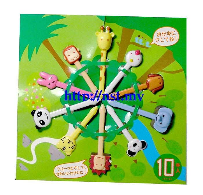 Japan Import Animal World Sandwich/dessert/Cake Picks