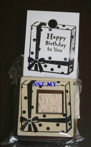 Cute Birthday Stamper
