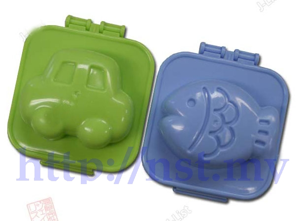 Fish & Car Egg Mould