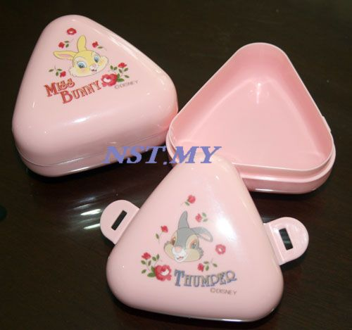 Japan Made Miss Bunny Rice Mould/Vegetable Food Case