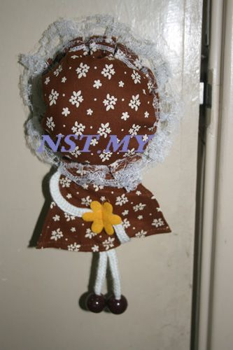 Japan Import Doll Shaped Door Knob Cover