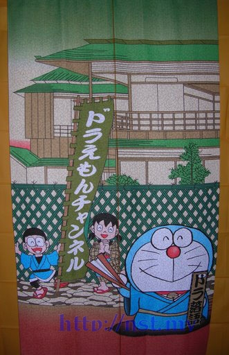 Doraemon Japanese Style Curtain