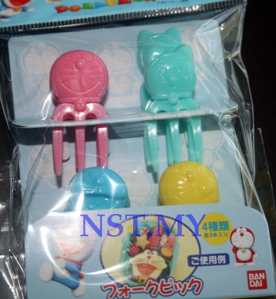 Japan Made Doraemon Fork Shaped Picks