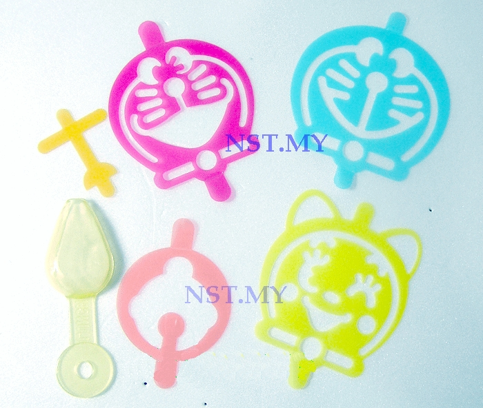 Japan Import Doraemon Stencil with spoon