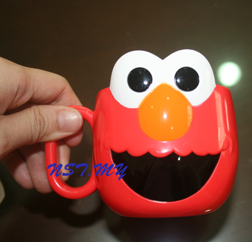 Japan Import Elmo Head Shaped Cup
