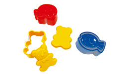 Japan Import Teddy Bear+Elephant+Fish Mould/Cookies Mould