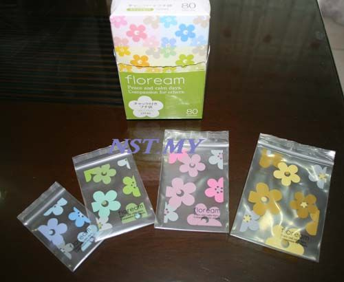 Japan Import Cute flowers Dessert/Cookies zip bag