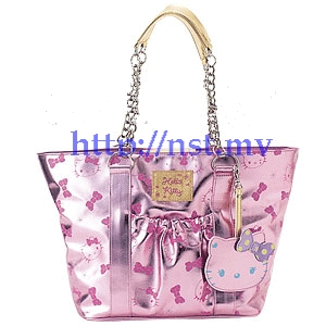 Pre-order Japan Import Hello Kitty Pink Color Bag