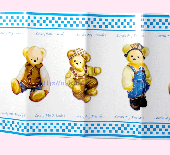 Teddy Bear Waterproof Dirt Avoid Kitchen Decorator