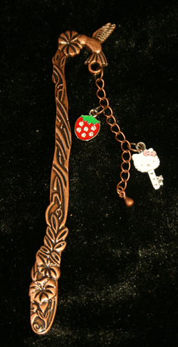Kitty Key 3D Bookmark