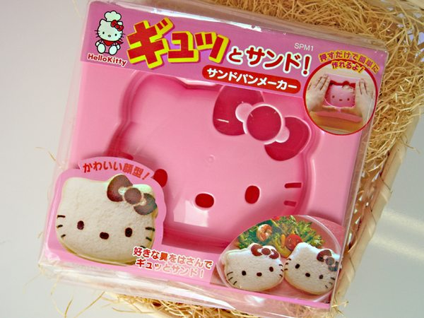 Hello Kitty Sandwich Press Mould