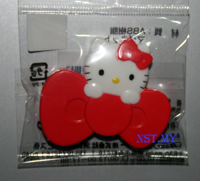 Kitty and Ribbon Magnet