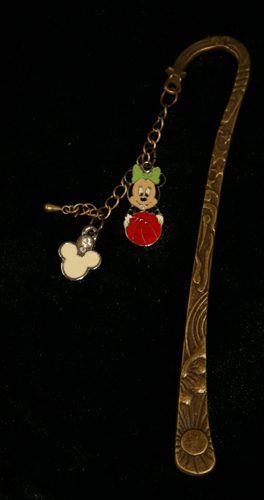 Minnie and ball 3D Bookmark