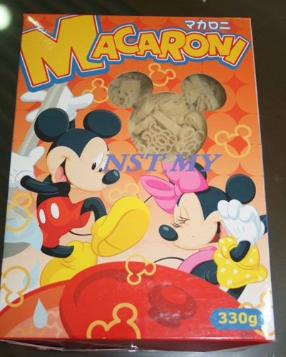 Japan Import Mickey & Minnie Pasta