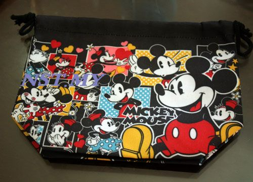 Cute Mickey Mouse Bento Bag Pattern 2