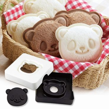 Panda Sandwich Mould + stamper Set