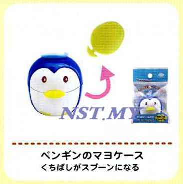 Japan Import Penguin Sauce Container