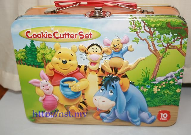 Japan Import Winnie the pooh cookies cutter box set