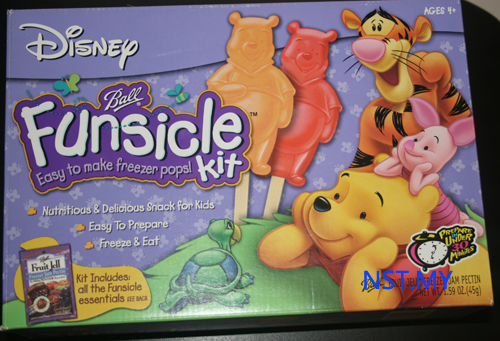 Pooh Freezer Pops Making Kit