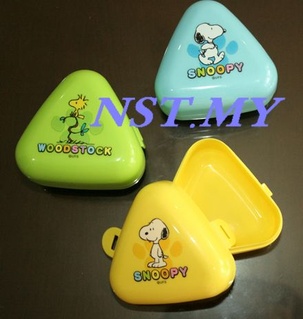Japan Made Snoopy Rice Mould/Vegetable Food Case