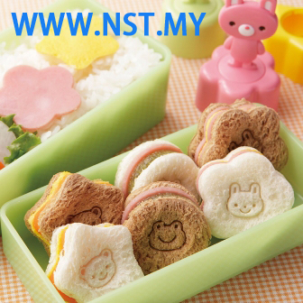 Rabbit Bear Frog stamping mould set