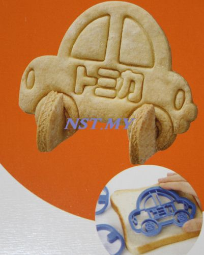 Japan Import Tomica 3D Car Shaped Cookies Mould