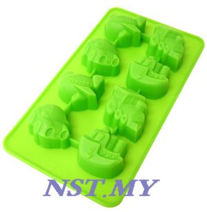 Cute Transport Silicon Mould